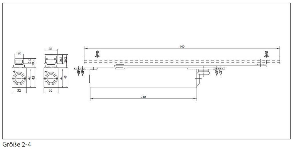 geze boxer gr 2 4 integrierter t rschlie er. Black Bedroom Furniture Sets. Home Design Ideas