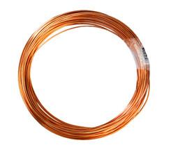 Kupfer-Draht CW003A (E-Cu) 6,0 mm weich R220 Ring 50 kg