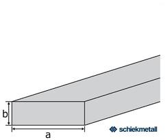 Alu-Flach EN-AW 6060 (AlMgSi0,5) 30x2 mm gepresst T66 EZL 6 m
