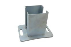 Stahl verzinkt Konsole für Steher 80x80 mm
