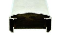 Handlaufprofil EN-AW 6060 (AlMgSi0,5) 80x40 mm gepr. T 66 EN755-9 EZL 6 m