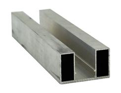 Durchzugsprofil EN-AW 6060 (AlMgSi0,5) 50x30 mm gepr. T 66 EN755-9 EZL 6 m