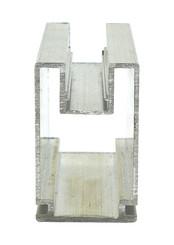 Aufsatzprofil EN-AW 6060 (AlMgSi0,5) 80x50 mm gepr. T 66 EN755-9 EZL 6 m