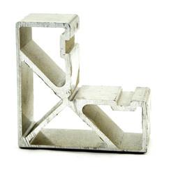 Alu Eckverbinder für Aufsatz 80x50 mm
