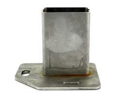 Niro Konsole für Steher 80x60 mm rechtes Eck