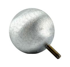 Alu Kugel 70 mm mit Gewindebolzen M8
