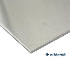 Alu-Blech EN-AW 1050A (Al99,5) 2,0x1000x2000 mm H111 weich