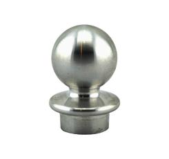 Alu Kappe Kugelform 30 mm für gerillte Palisade