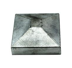 Alu Deckel für Steher 120x120 mm