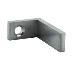 Alu Montagewinkel für Durchzugsprofil 60x30 mm 1 Pkt. = 4 Stk.