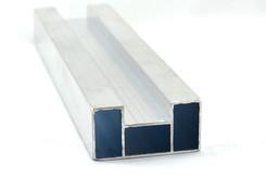 Durchzugsprofil EN-AW 6060 (AlMgSi0,5) 60x30x1,5 mm gepr. T66 EN755-9 EZL 6,5 m
