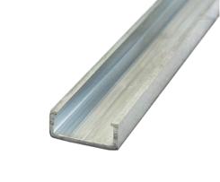 Ausfachprofil EN-AW 6060 (AlMgSi0,5) 10x24x10 mm f. DZ 60x30 gepr. T66 EN755-9 EZL6,5 m
