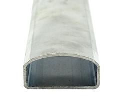 Handlaufprofil EN-AW 6060 (AlMgSi0,5) 60x30x2,5 mm gepresst T66 EN755-9 EZL6,5 m