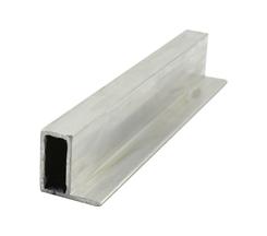 Rahmenprofil EN-AW6060 (AlMgSi0,5) 40x20x3 mit eins. 20 mm Fahne gepr. T66 EN755-9 EZL 6m