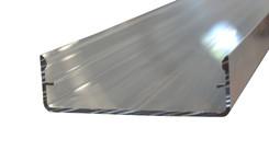 Alu Klipsdeckschiene System 60 (62,9x19,7mm) blank EZL 6 m