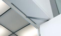 Geze Boxer Gr. 2-4 integrierter Türschließer, Schließgeschwindigkeit und Öffnungsdämpfung einstellbar, Nr. 99728